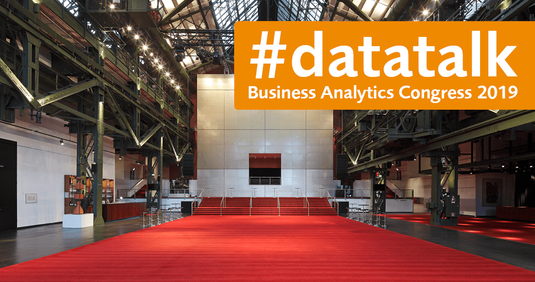 EVACO #datatalk Business Analytics Congress 2019 im Colosseum Theater Essen