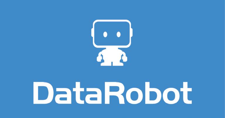 DataRobot Logo blau