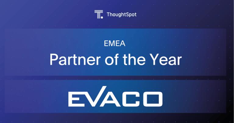 EVACO ThoughtSpot Award 2020