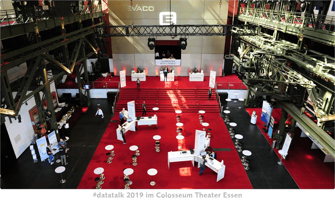 EVACO #datatalk congress 2019 im Colosseum Theater Essen