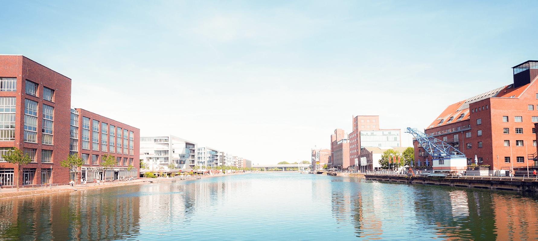 EVACO beim Duisburger Innenhafen
