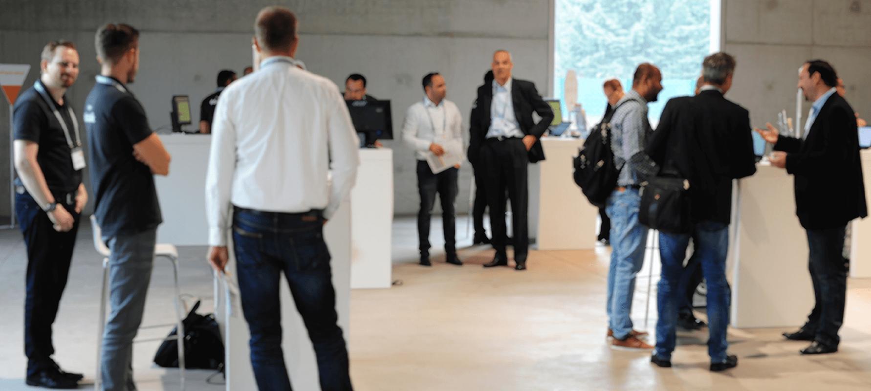 #datatalk congress 2017 Ausstellungsraum Sanaa Gebäude