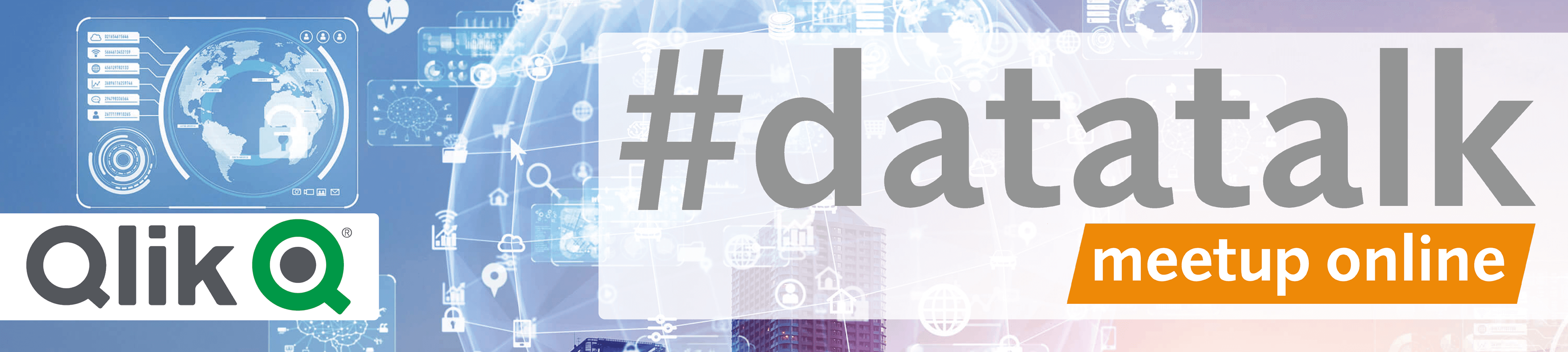 #datatalk Meetup Online Banner