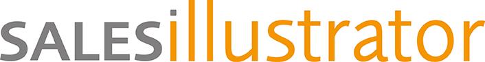 SALESillustrator Schriftzug Logo