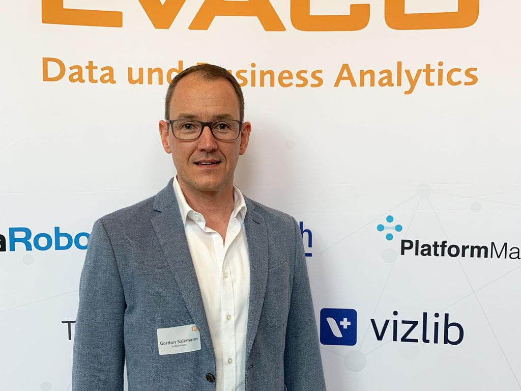 Gordon Salzmann, Sr. Dir. Business Development und Marketing, EVACO GmbH