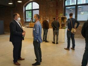 Networking beim #datatalk congress 2021