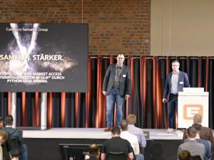 #datatalk congress 2021 - Sebastian Wittke und Christian Mielke von Sanvartis GmbH